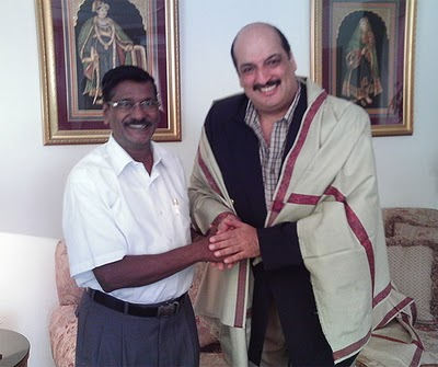 Periyardasan met Ajaya Malhothra