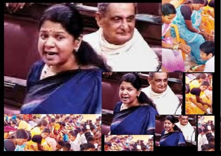Kanimozhi opposing padapuja in RS 05-08-2016
